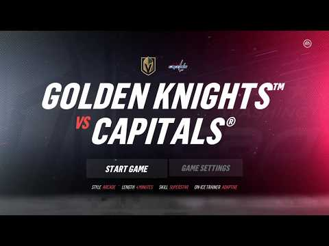 NHL 19 Stanley Cup Rematch - Vegas Knights vs Washington Capitals - Game 2