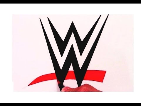 How to draw the wwe logo