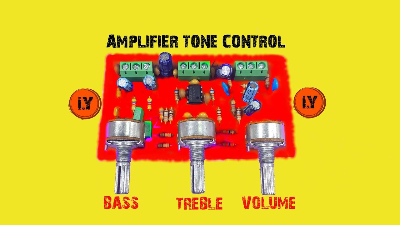 How To Make An Amplifier Tone Control Circuit Ton Kontrol Devres Tda2040 Car Stereo Nasil Yapilir