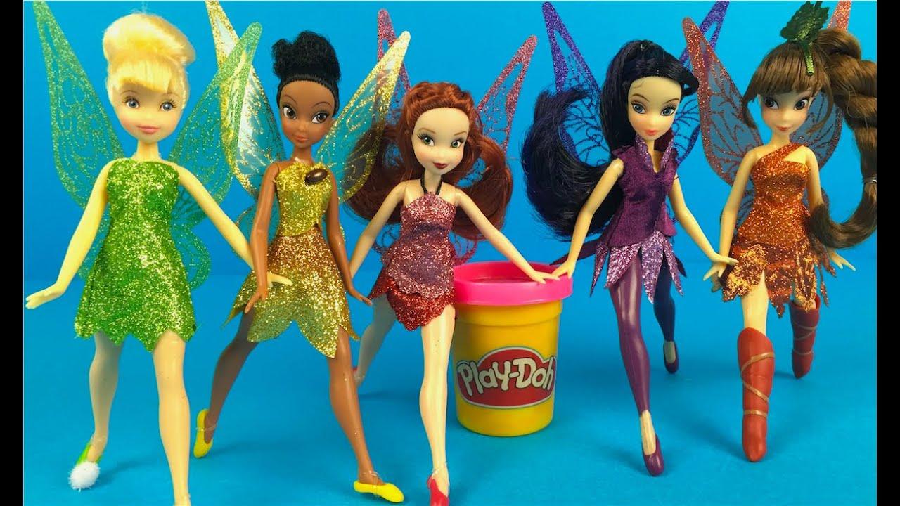 Disney Fairies Tinkerbell And The Legend Of Neverbeast Figurines Boneka Hello Kitty Wedding14ampquotn A Princesses Dolls