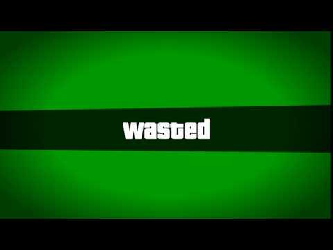 Download Скачать Wasted Green screen GTA 5 [Для мувиков монтажа]