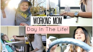Video Day In The Life of A Working Mom! Working Mom Routine | Justine Marie download MP3, 3GP, MP4, WEBM, AVI, FLV November 2017