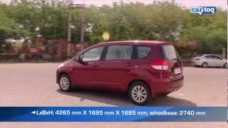 Maruti Suzuki Ertiga Road Test and Video Review by CarToq.com