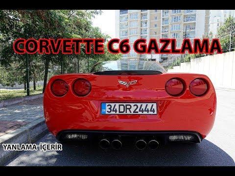 CORVETTE C6 GRAND SPORT  İLE GAZLADIK | YANLAMA VE EGZOZ İÇERİR