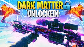 I Unlocked DARK MATTER Camo in Black Ops 4