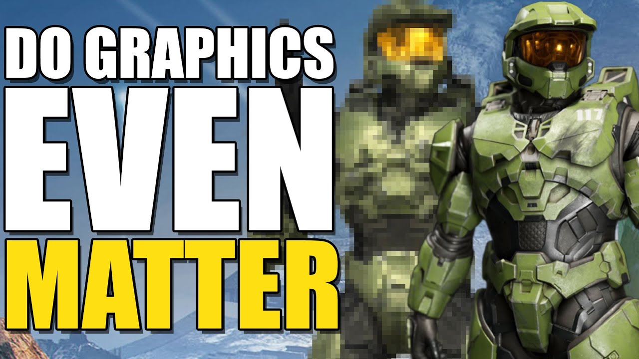 Are Graphics In Halo Even Important? (Will Halo Infinite's Graphics Ruin The Game?)
