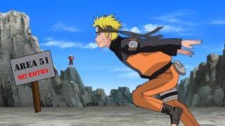 600,000 idiots Will Naruto Run into Area 51