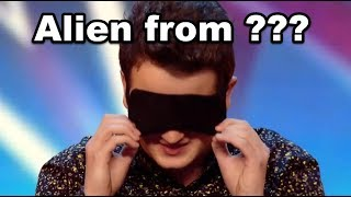 Audition Performed by ALIEN! - Simon Cowell is SHOCKED - He is from Different PLANET!