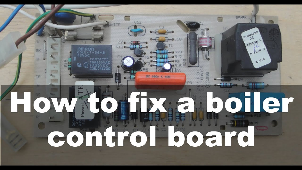 How to fix a boiler control board – Ask A Builder - YouTube
