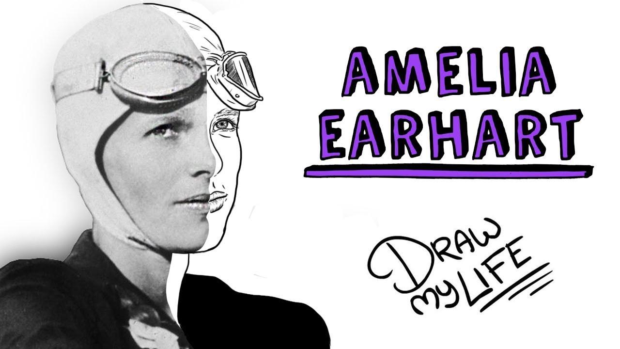 AMELIA EARHART | Draw My Life | Especial Día Internacional de la Mujer
