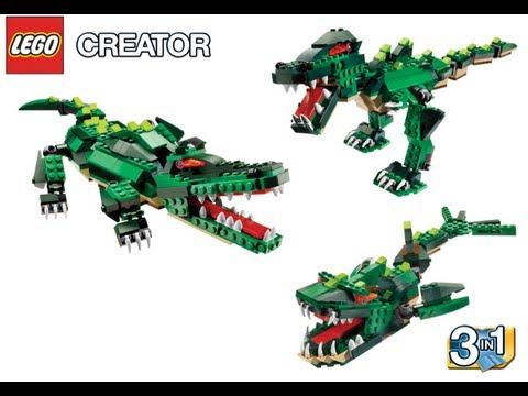 Lego Creator 5868 Ferocious Creatures Instructions Youtube