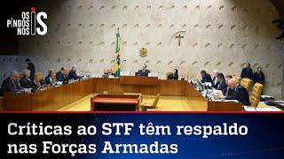 Militares Apoiam Críticas De Bolsonaro Ao Supremo