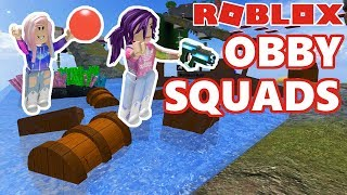 Roblox: Obby Squads / Team Parkour Challenge!
