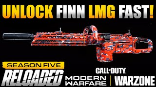 How To Unlock the New FiNN LMG in Under 10 Minutes | Modern Warfare Multiplayer/Warzone Tips
