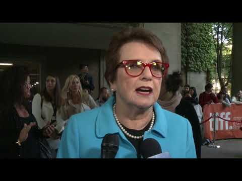 Battle of the Sexes: Billie Jean King TIFF Red Carpet Interview