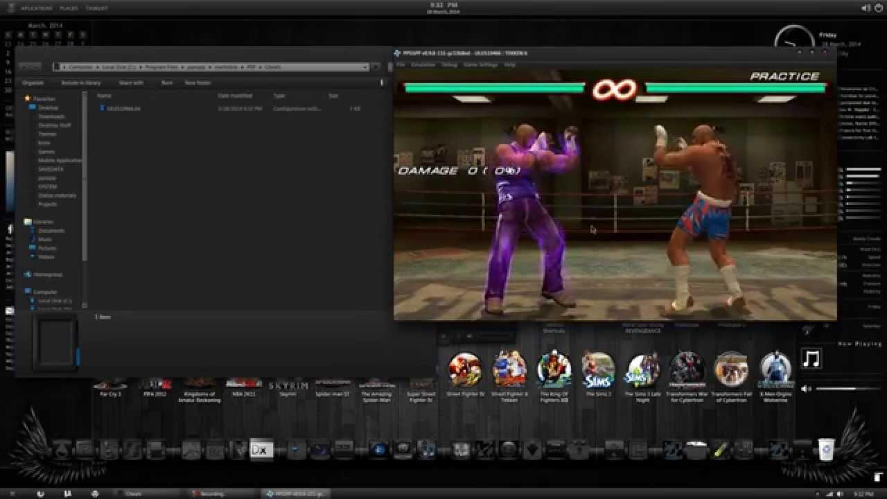 Tekken 6 psp чит коды
