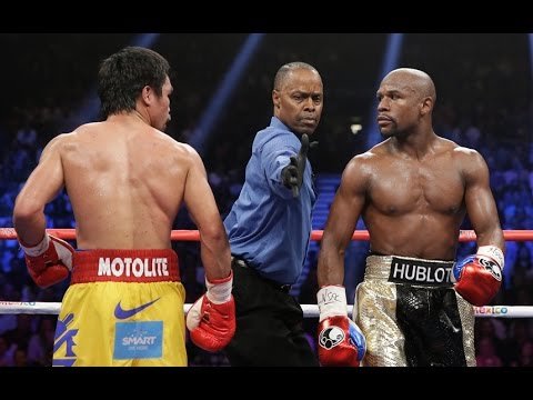 Floyd mayweather vs PhIlip Ndou and Manny Paquiao