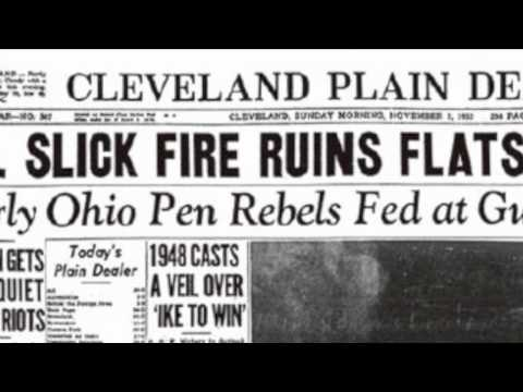 """The Cuyahoga River Fire: """"Don't Fall in the River"""""""