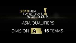 FIBA Basketball World Cup 2017-2019 competition system - Asia Region