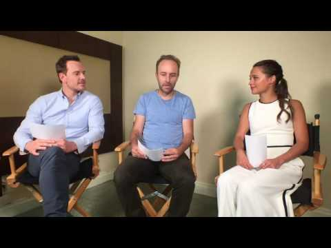 Michael Fassbender & Alicia Vikander on Buzzfeed Entertainment 7/25/16
