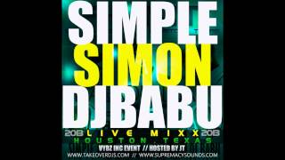 Simple Simon & Dj Babu Live In Houston (2013)