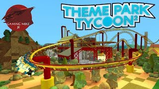 Building New Coasters | Theme Park Tycoon 2 | Roblox