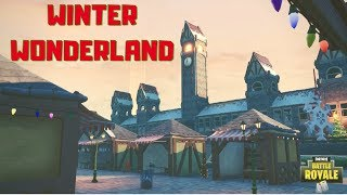 *NEW* WINTER WONDERLAND (W/ Code) | My 2nd #ForniteBlockParty Submission! | Fortnite: Creative