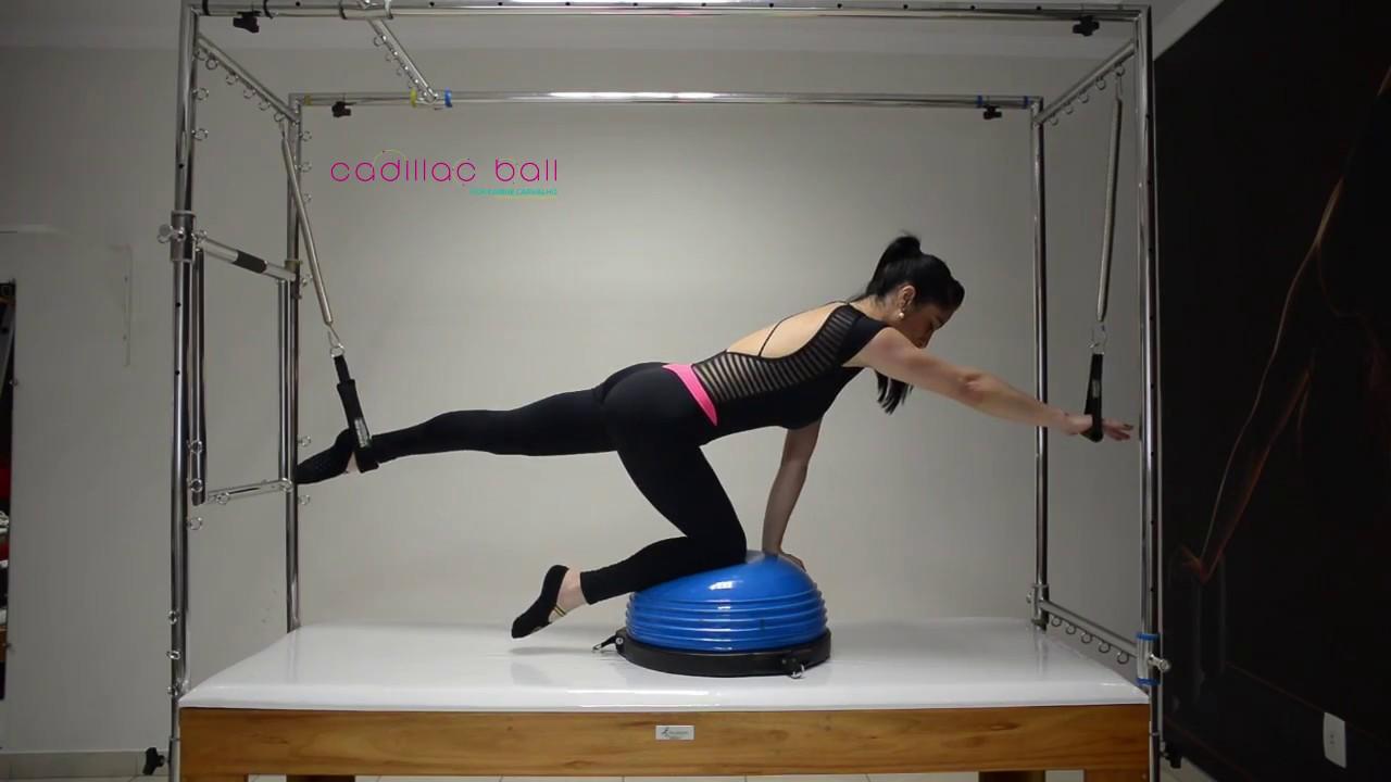 8e7f769052bd7 Pilates - Vencendo sua instabilidade com Meia Bola Bosu + Cadillac ...