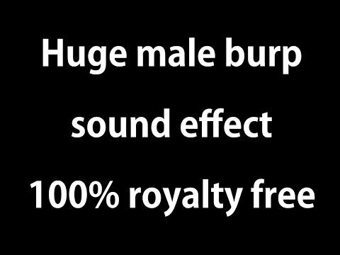 Huge Burp sound effect Royalty Free
