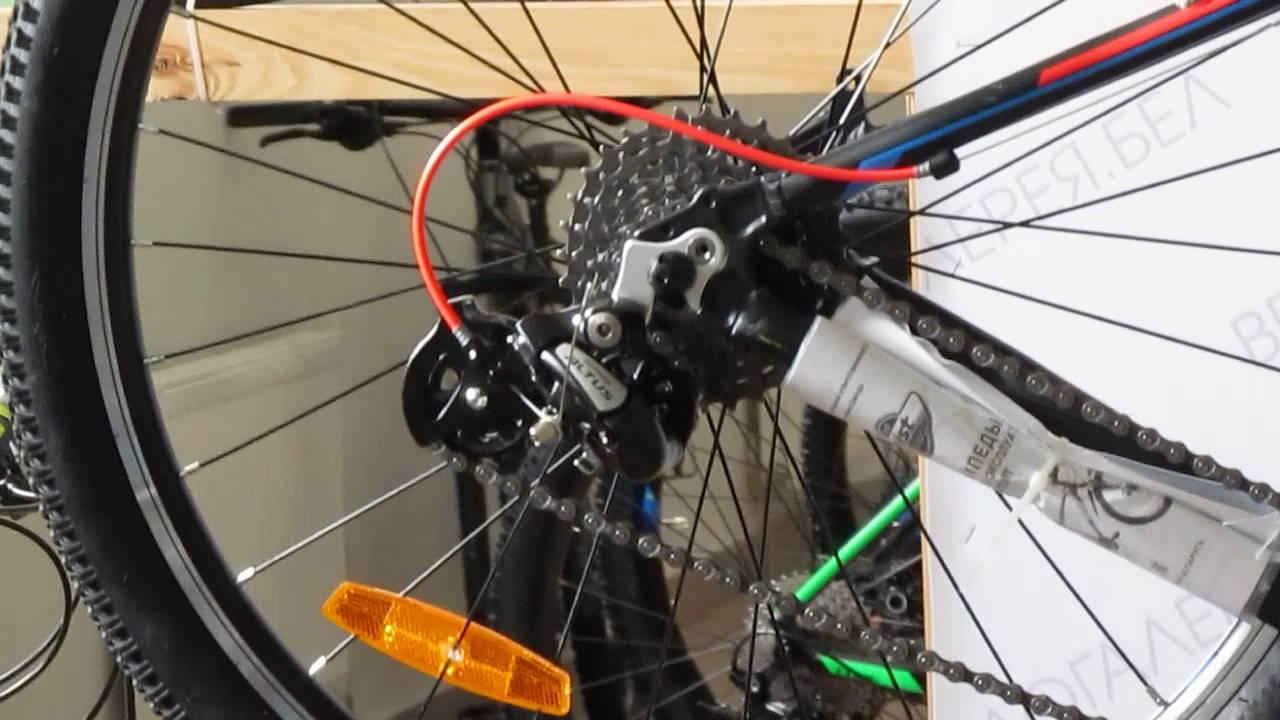 Как отремонтировать заденее колесо дорожного велосипеда ММВЗ Аист .