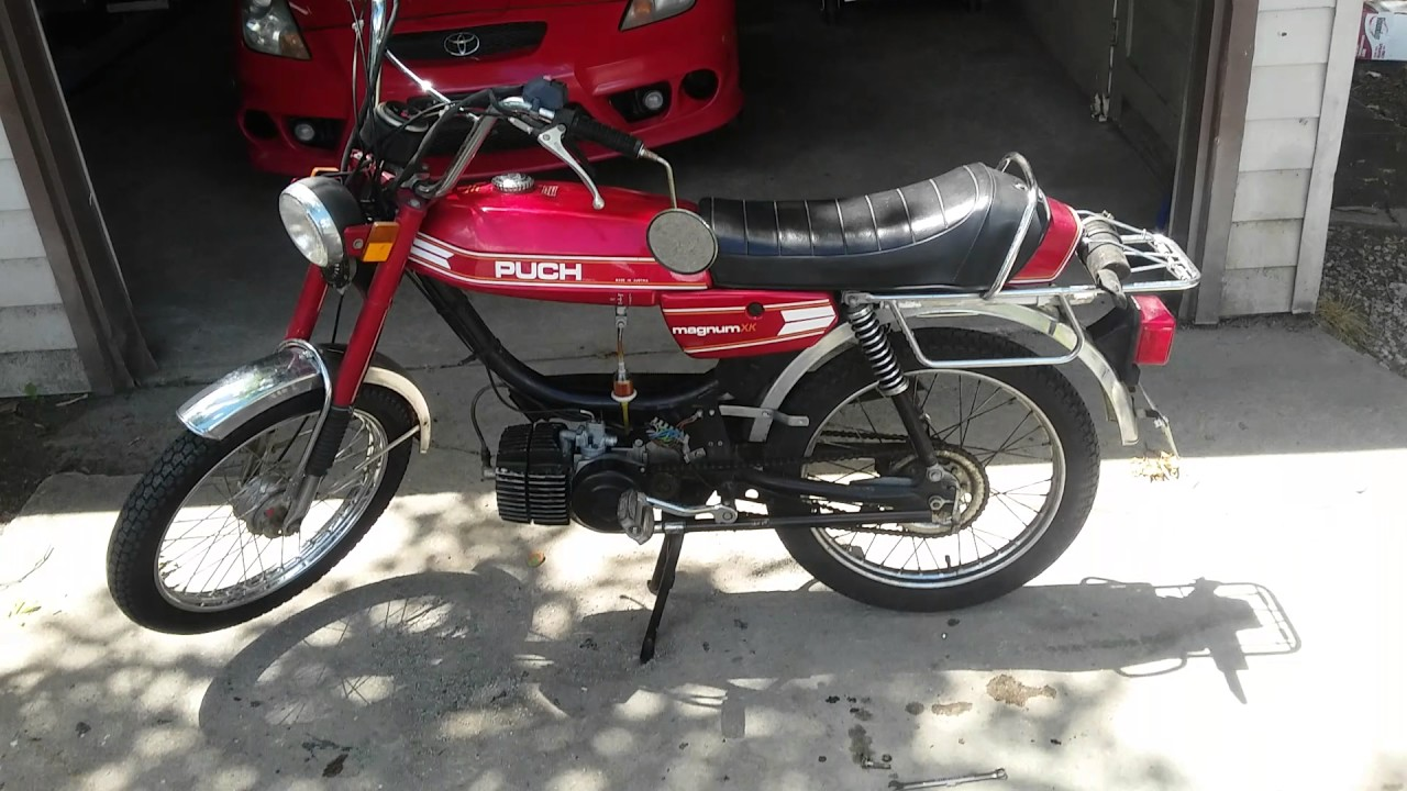 Puch Magnum straight pipe