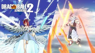 Fairy Tail Beta Gameplay Dragon Ball Xenoverse 2