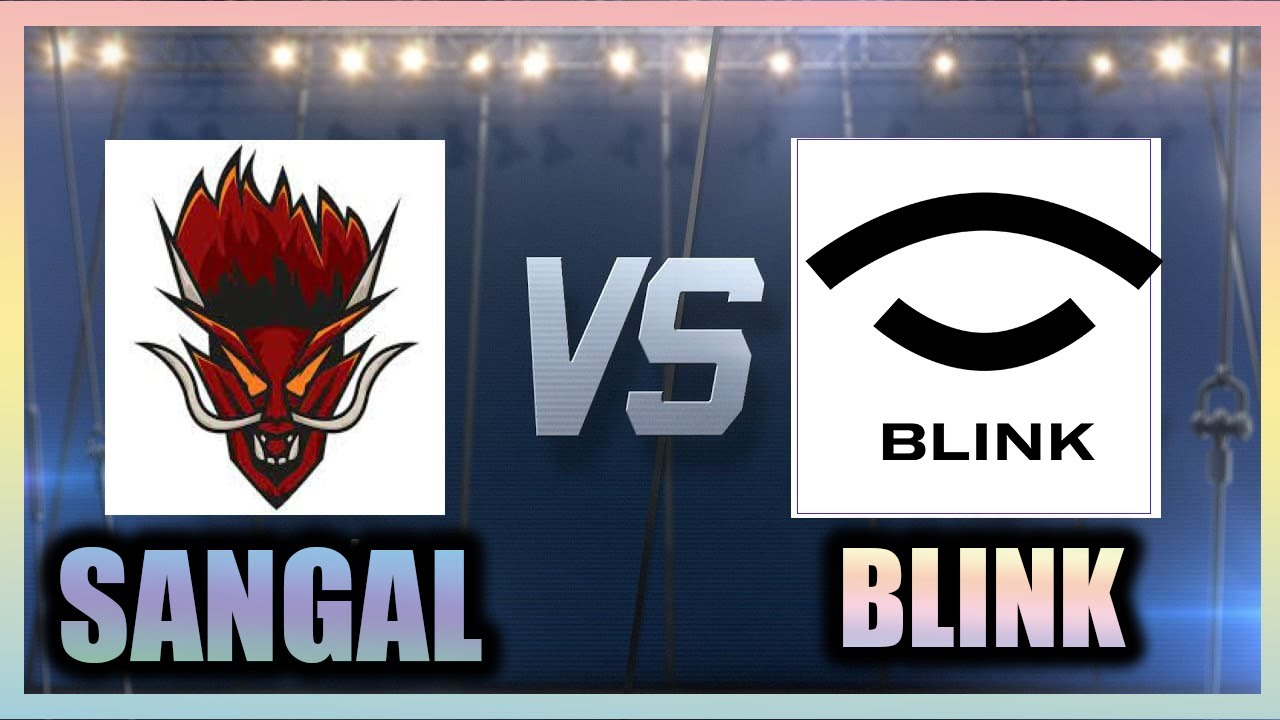 SANGAL VS BLINK ILK MAP MIRAGE #sangal #blink #sangalvsblink