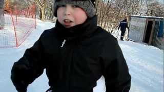 Сноуборд,9янв2013 Первый монолог после катания