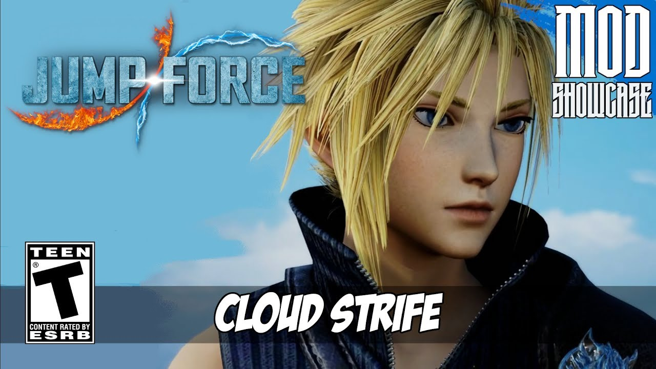 【JUMP FORCE MODS】 CLOUD STRIFE FROM FINAL FANTASY VII: ADVENT CHILDREN [PC – HD]