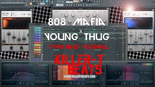 how to make a 808 mafia x young thug type beat   killer t beats