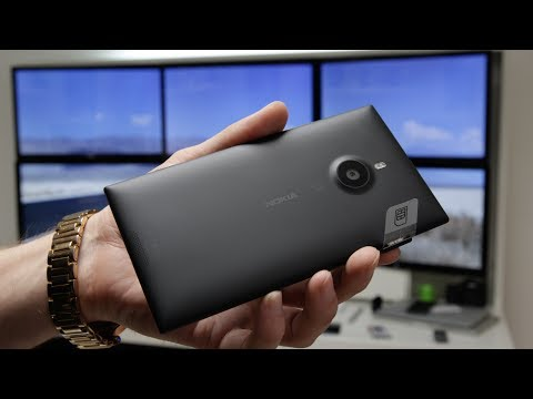 Nokia Lumia 1520 Unboxing in Full 4K