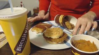 ASMR Soft Spoken ~ Biscuitville Show & Tell + Eating Sounds & Ramble
