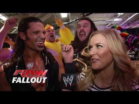 The party kicks off for Adam Rose - Raw Fallout - May 26, 2014