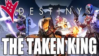Destiny - New Ghost Voice Is Awful! Taken King DLC