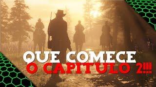 RED DEAD REDEMPTION 2 - VAMOS SE AVENTURAR POR MAIS HORAS!!! #2