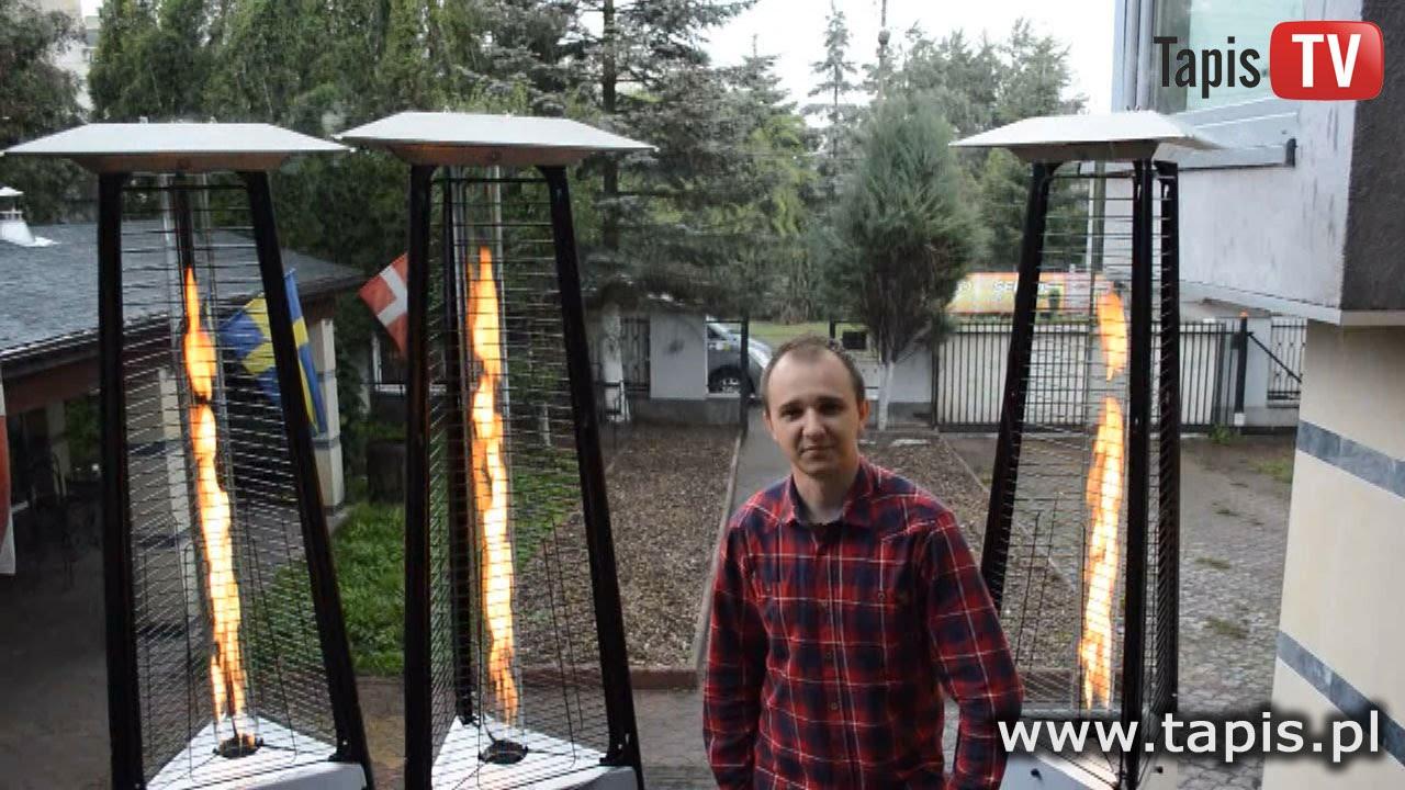 Tapis Tv Lampa Grzewcza Gazowa Tulon Ogrzewacz Promiennik Tarasowy Ogrodowy Piecyk Gazowy