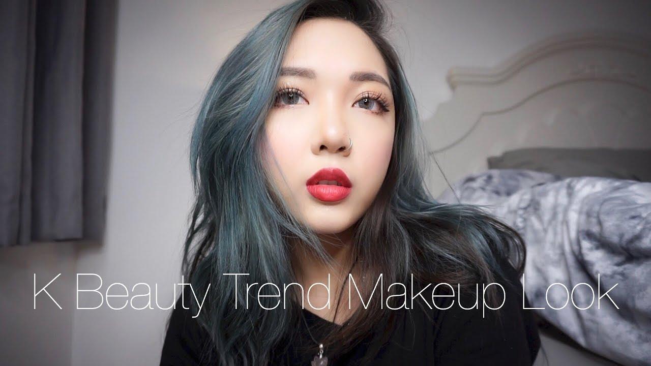 Trang Điểm Như Sao Hàn - K Beauty Trend Makeup Look 2019 | Con Thỏ |
