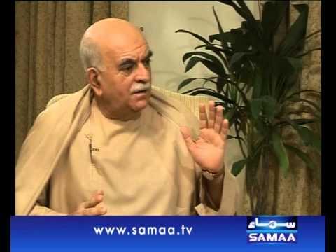Zer-e-Bahas, Mehmood Khan Achak Zai interview, Nov 10, 2013