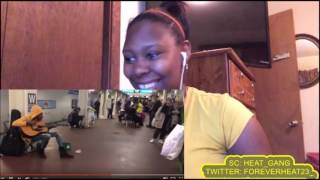 SUBWAY PERFORMER STUNS CROWD AT THE SUBWAY IN CHICAGO IL REACTION!!! THIS GIRL GOT TALENT!!