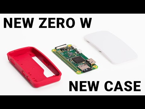 New Pi Zero W: wireless LAN and Bluetooth for only $10