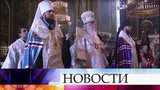 ВРПЦ заявили осоздании специальной комиссии для переговоров сКиевским патриархатом.