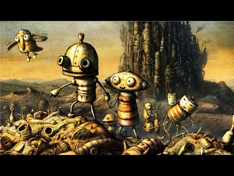 Машинариум мультик игра о приключения маленького робота Йозефа #1 Прохождение игры Machinarium