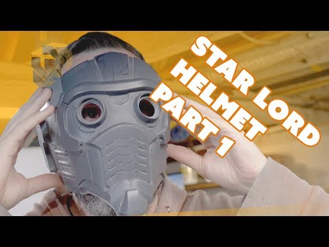 Cleaning up the Casting - Finishing the Star-Lord Helmet Kit Part 1
