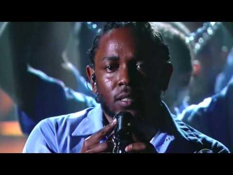 Kendrick Lamar Grammy Performance 58th Grammy 2016